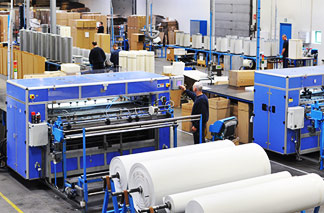 Air Filter cartridges production
